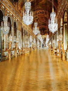 Katebackdrop:Kate The hall of mirrors at the Palace of Versailles in France Backdrop