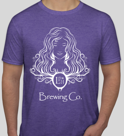 Chest logo T-Shirt (Purple)