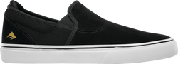 Emerica Wino Slip On Black/White/Gold