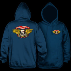 Powell Peralta Winged Ripper Hoodie Navy