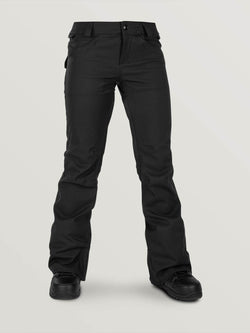 Volcom Womens Species Stretch Pants - Black