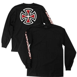 Independent Bar Cross Long Sleeve Tee