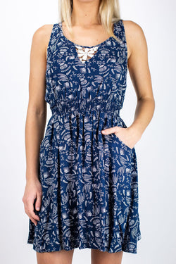 Jetty Lidia Navy Dress
