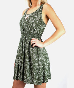 Jetty Lidia Olive Dress