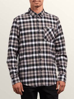 Volcom Caden Plaid LS Button Up