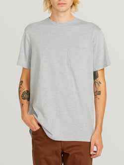 Volcom Heather S/S Pocket Tee