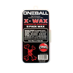 X-Wax 5 Pack Snow Wax