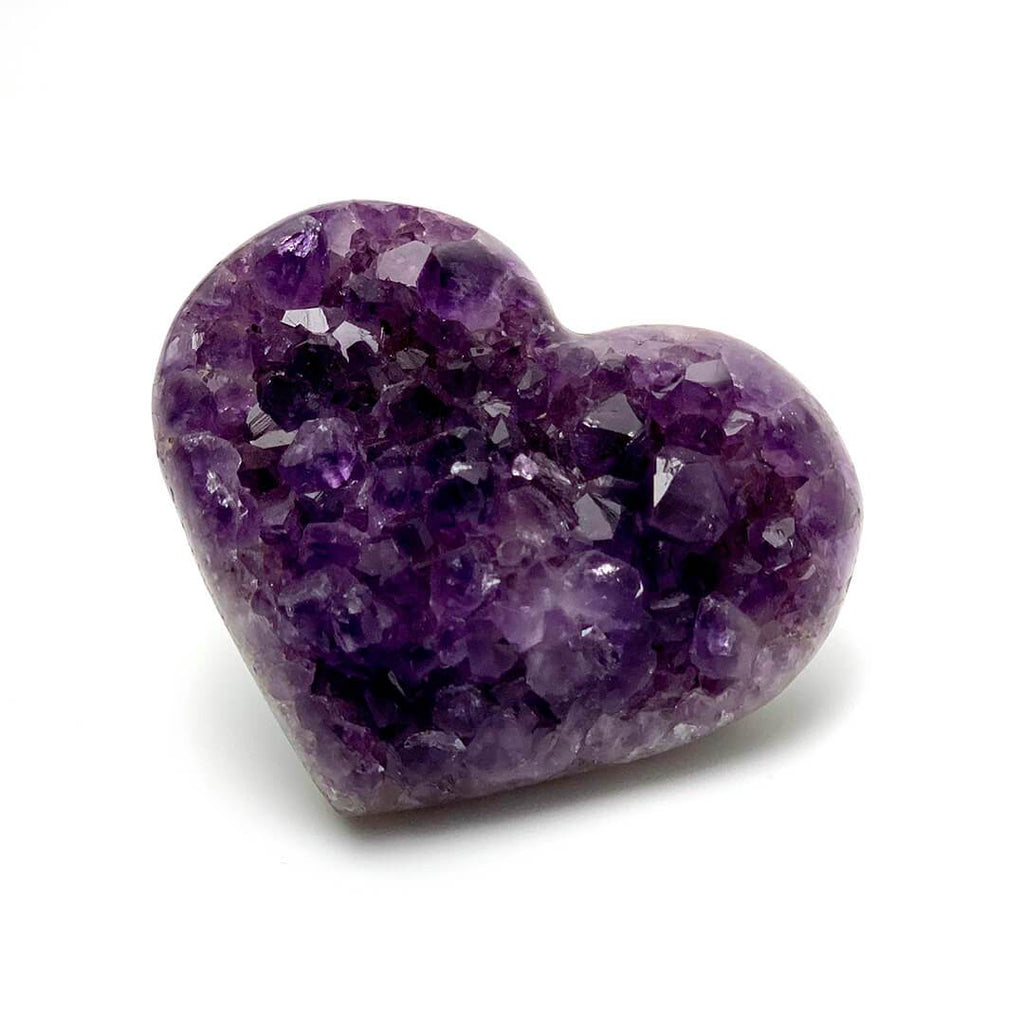 Ancient Element Creations Crystal Decor Large Amethyst Heart Geode