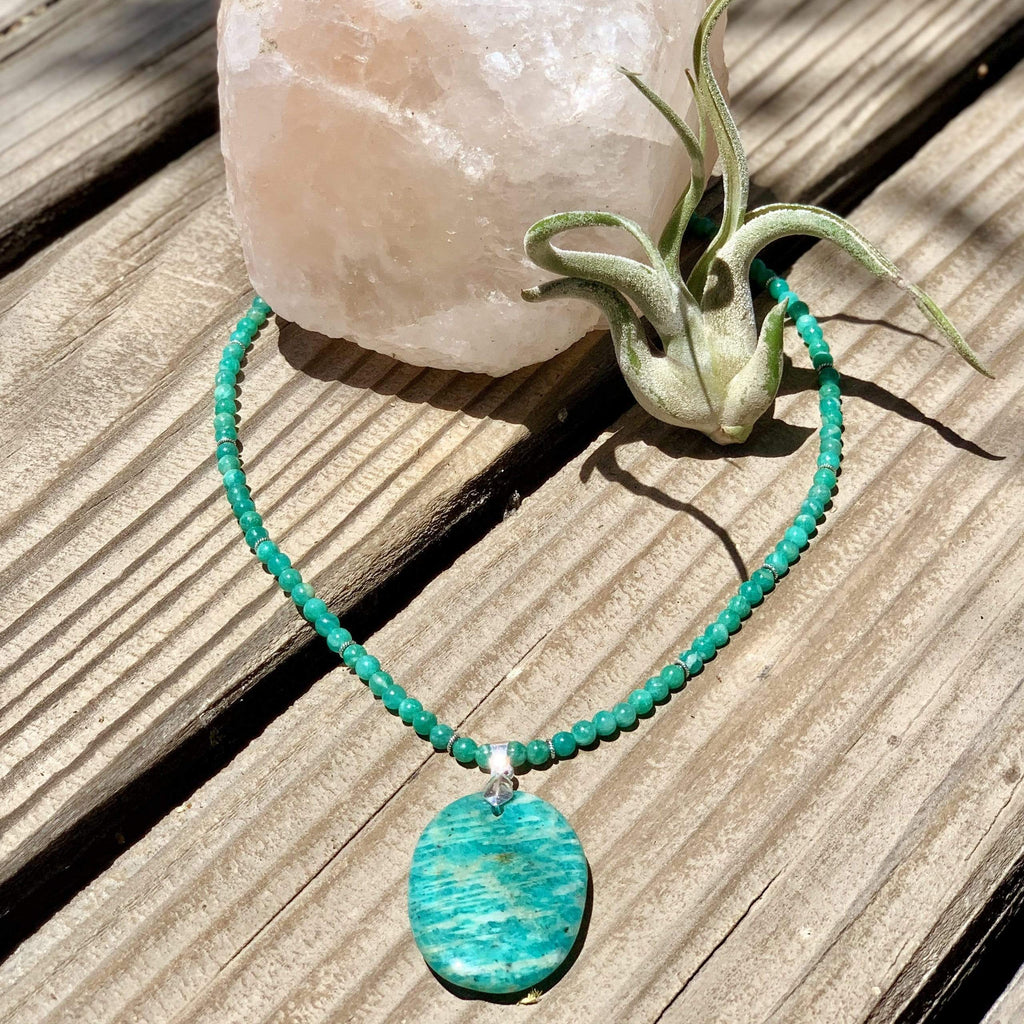 amazonite-crystal-healing-necklace