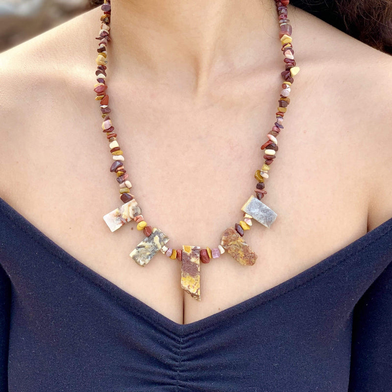 Ancient Element Creations Necklace Mookaite Necklace