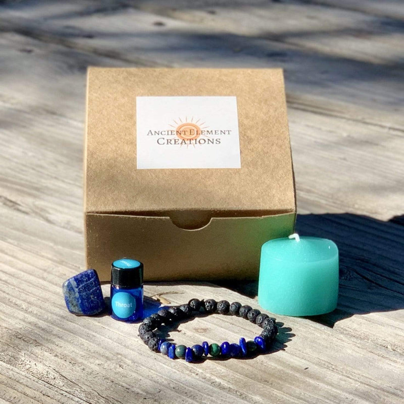 Ancient Element Creations Throat Chakra Healing Kit