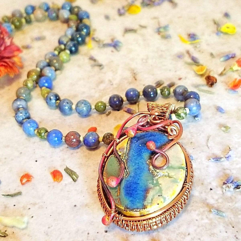 AncientElementCreations Necklace Heaven and Earth