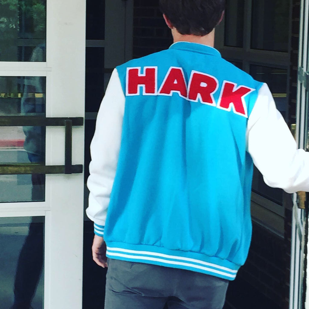 HARK Fleece Varsity Jacket - choose your own colors! - Bard Shirts