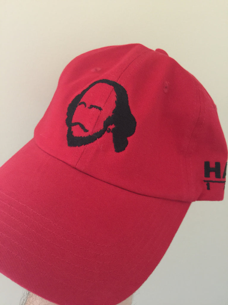 Shakespeare - HARK Hat in Red - Bard Shirts