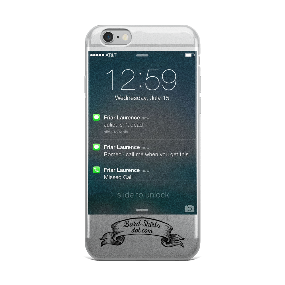 iPhone Case - Romeo's iPhone - Bard Shirts