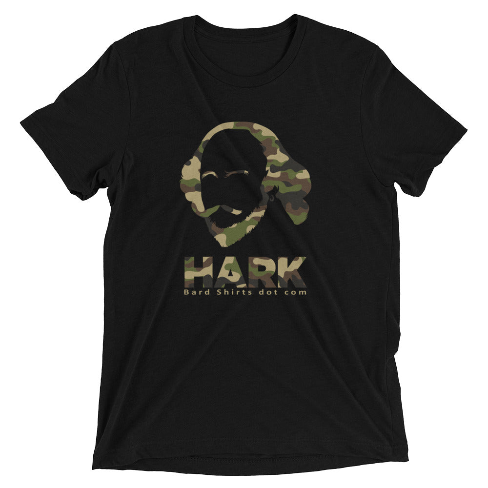 The HARK Shirt in Green Camo - Bard Shirts