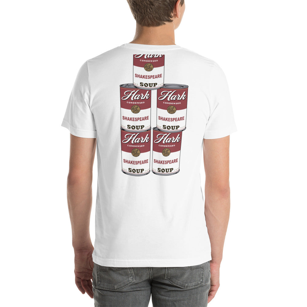 HARK Shakespeare Soup Can T-shirt #2 - Unisex T