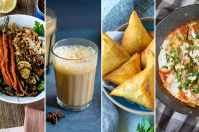 12 Globally Inspired Recipes for the Holiday's