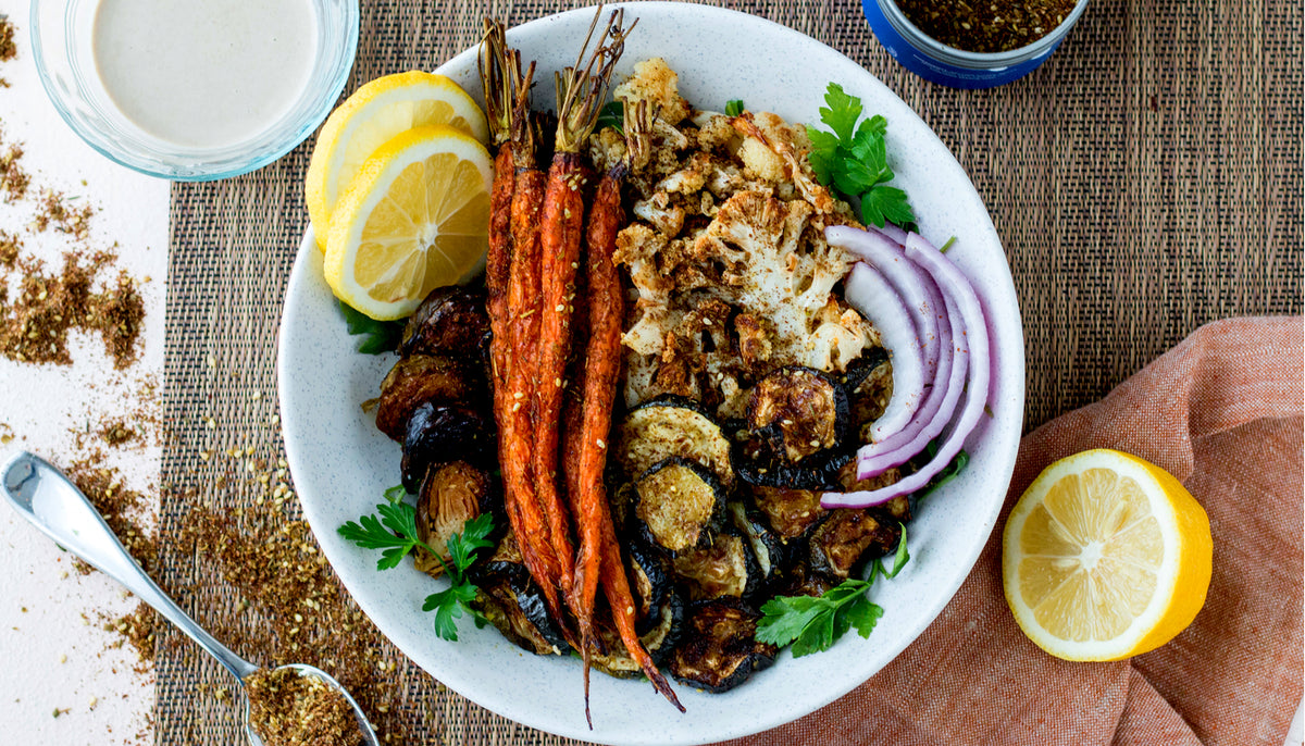 Za'atar Roasted Vegetables Recipe