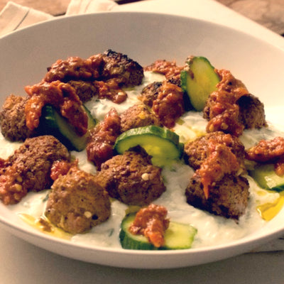 Baharat Spiced Meatballs Recipe