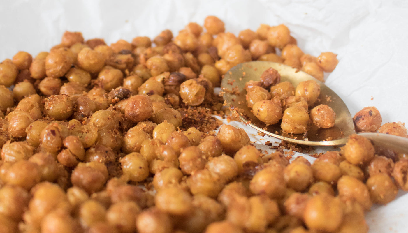 Crispy Aleppo Pepper Chickpeas Recipe