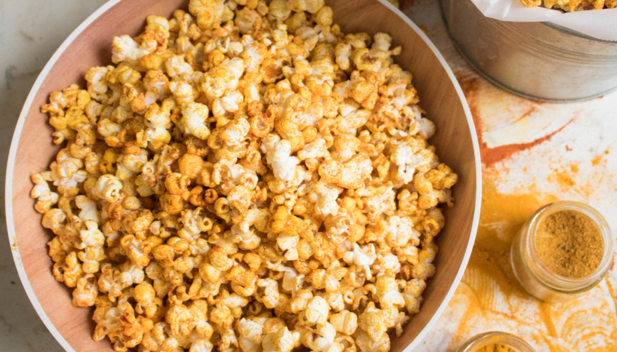Indian Spiced Popcorn Recipe