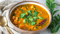 Butternut Squash Sambar Recipe