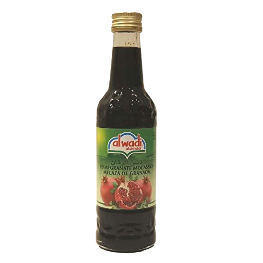 14oz pomegranate molasses. A staple ingredient in Middle Eastern cooking, recipes and dishes.