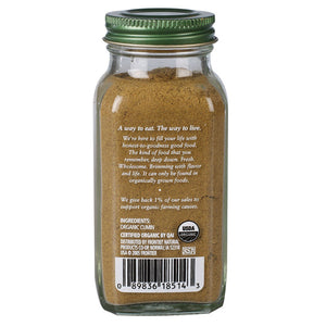 Nutritional value of 2.3 oz organic ground cumin spice. Used in Middle Eastern and Indian cooking, spices and dishes.