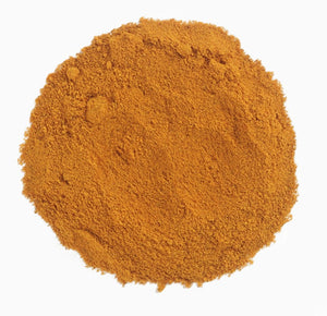 0.53oz pinch size portion of organic ground turmeric spice. Perfect for Indian cooking, recipes & dishes.