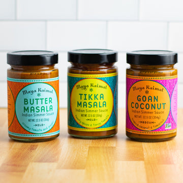 Indian Curry Sauce Trio