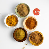 Organic Indian Spice Set