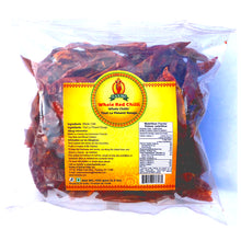 3.5oz red whole chili peppers add a spicy kick to Thai and Indian cooking, dishes & recipes.