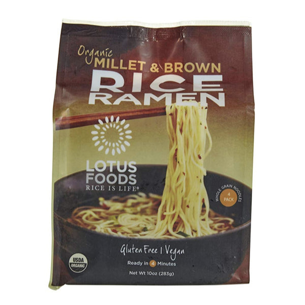 Organic Millet & Brown Rice Ramen (4 Cakes)