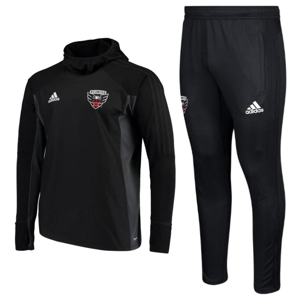 Dc United Training Technical Warm-Up Tracksuit 2017/18 - Adidas - SoccerTracksuits.com