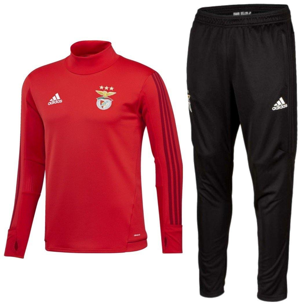 Benfica Training Technical Soccer Tracksuit 2017/18 - Adidas - SoccerTracksuits.com