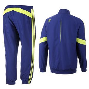 Fc Chelsea Ucl Presentation Soccer Tracksuit 2014/15 - Adidas - SoccerTracksuits.com