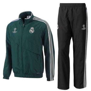 Real Madrid Ucl Presentation Soccer Tracksuit 2012/13 - Adidas - SoccerTracksuits.com