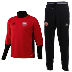 Denmark Training Technical Soccer Tracksuit 2016/17 - Adidas - SoccerTracksuits.com