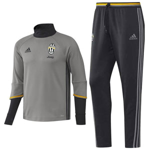 Juventus Training Technical Soccer Tracksuit 2016/17 Grey - Adidas - SoccerTracksuits.com