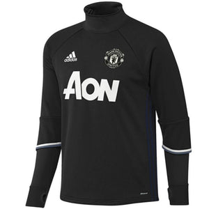 Manchester United Technical Training Soccer Tracksuit 2016/17 Black - Adidas - SoccerTracksuits.com
