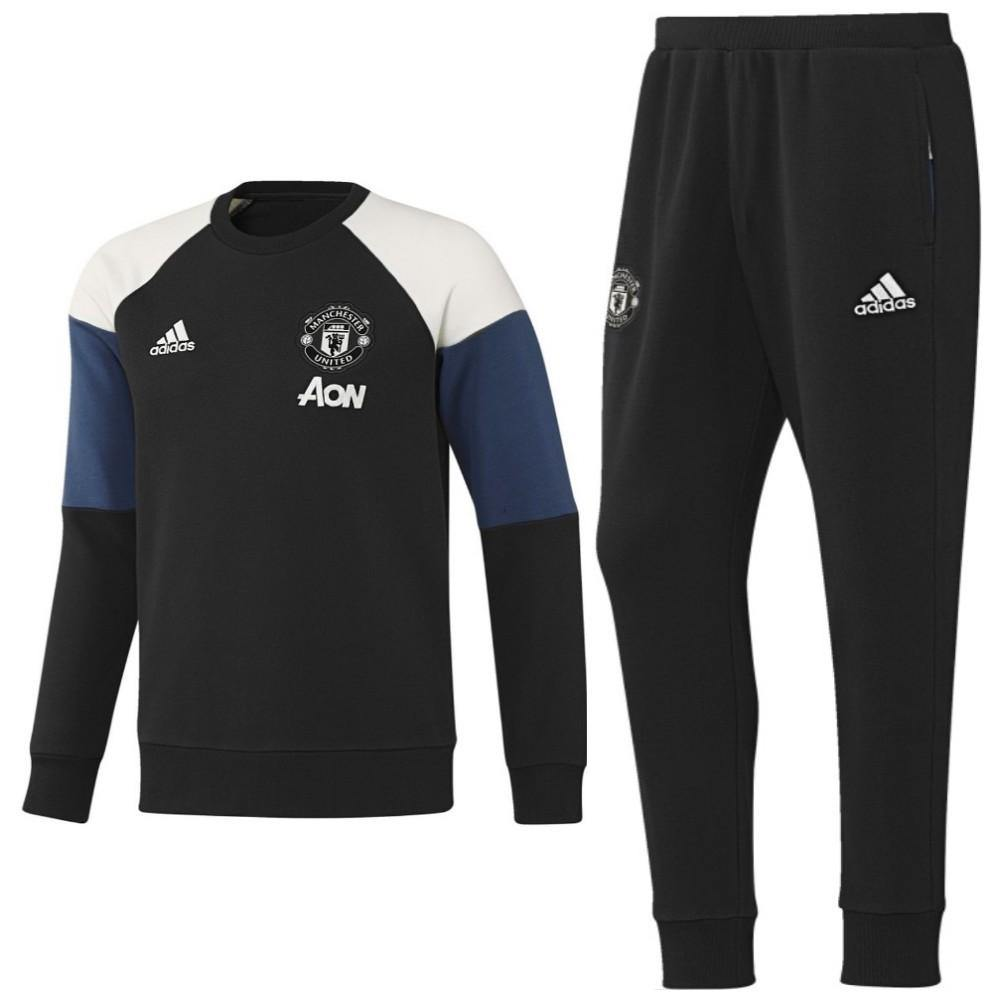 Manchester United Training Sweat Set 2016/17 - Adidas - SoccerTracksuits.com