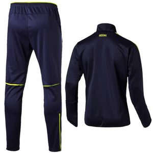 Arsenal Ucl Technical Training Soccer Tracksuit 2016/17 Navy/Fluo - Puma - SoccerTracksuits.com
