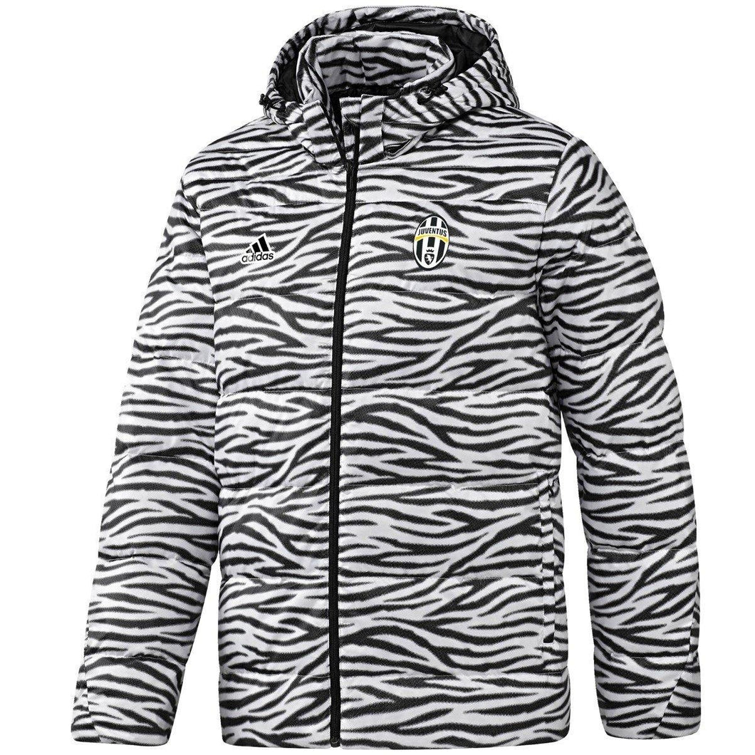 Juventus training bench soccer padded jacket 2016/17 - Adidas - SoccerTracksuits.com