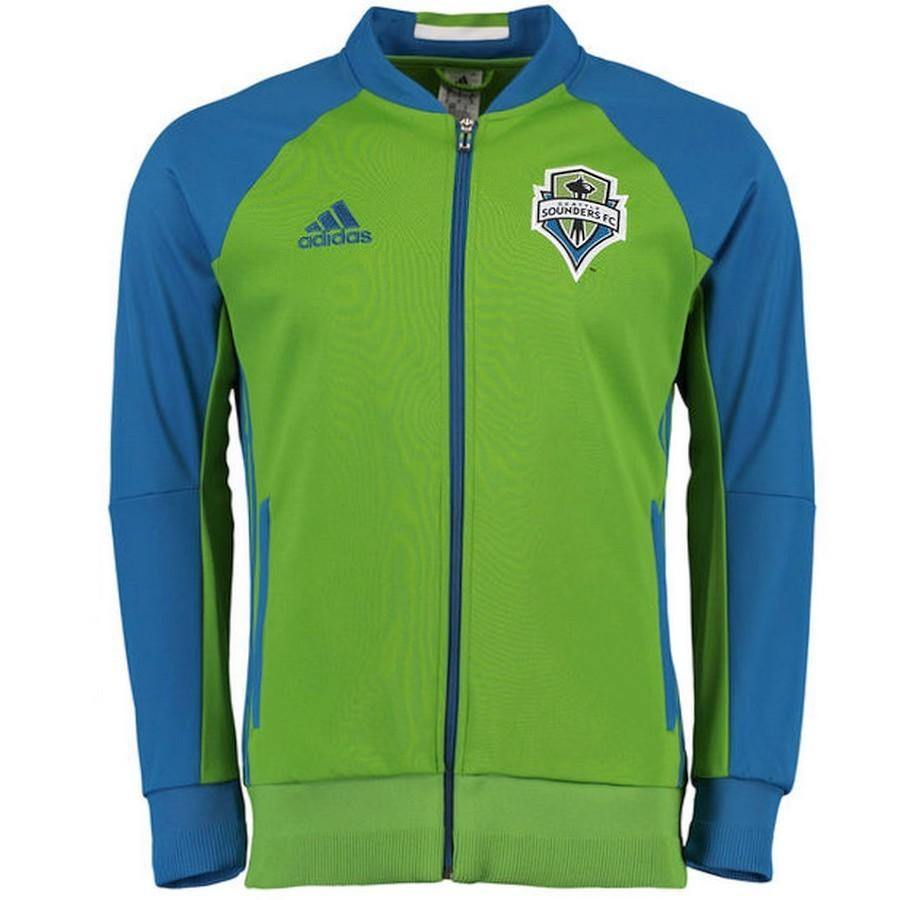 new styles c533d cf27d Seattle Sounders Pre-Match Presentation Soccer Tracksuit 2016/17 - Adidas