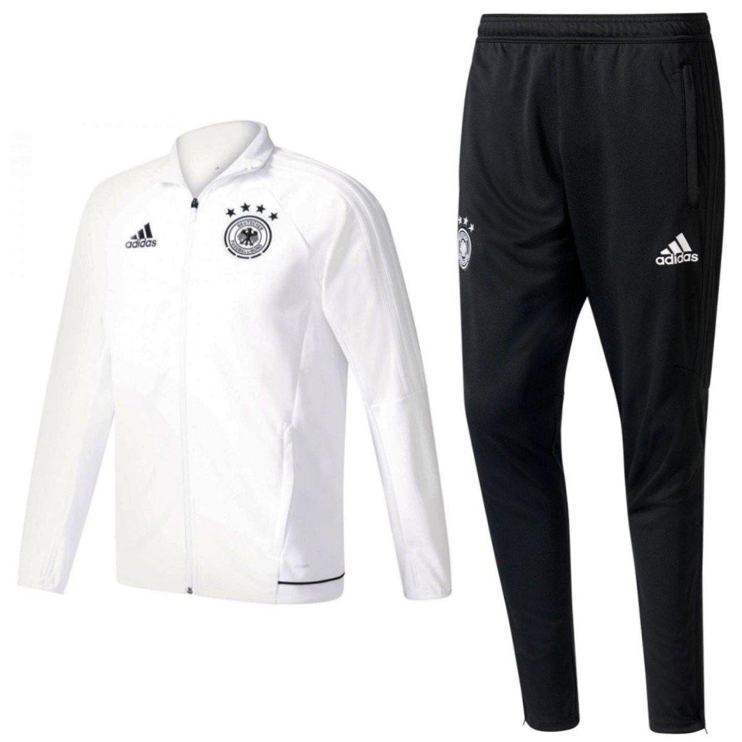 Germany Training Soccer Tracksuit 2017 - Adidas - SoccerTracksuits.com