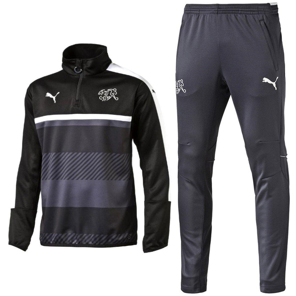 Switzerland Technical Training Soccer Tracksuit 2016/17 - Puma - SoccerTracksuits.com