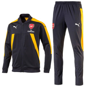 Arsenal Pre-Match Training Soccer Tracksuit 2017 - Puma - SoccerTracksuits.com