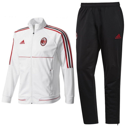 Ac Milan Training Soccer Tracksuit 2017/18 - Adidas - SoccerTracksuits.com