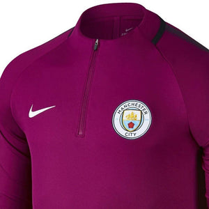 Manchester City Fc Training Technical Soccer Tracksuit 2017/18 Violet - Nike - SoccerTracksuits.com